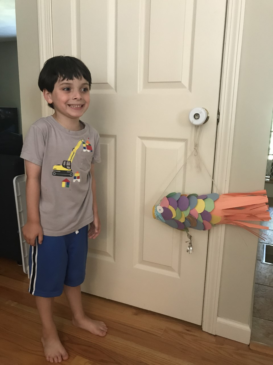 Eli's rainbow fish