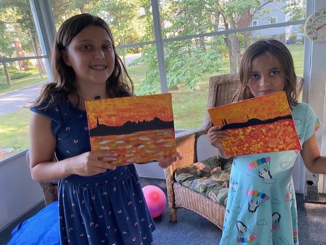 Impressionist Sunsets