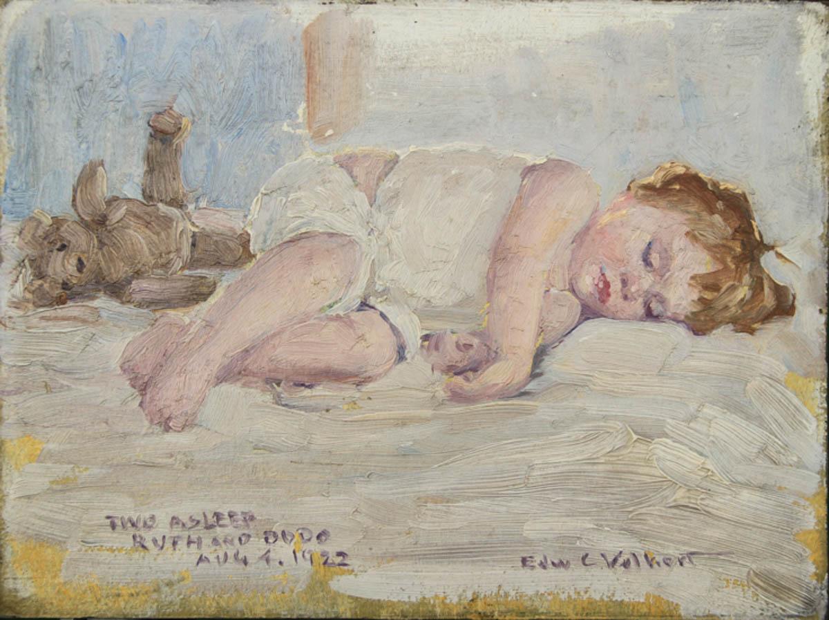 Two Asleep, Ruth and Dodo