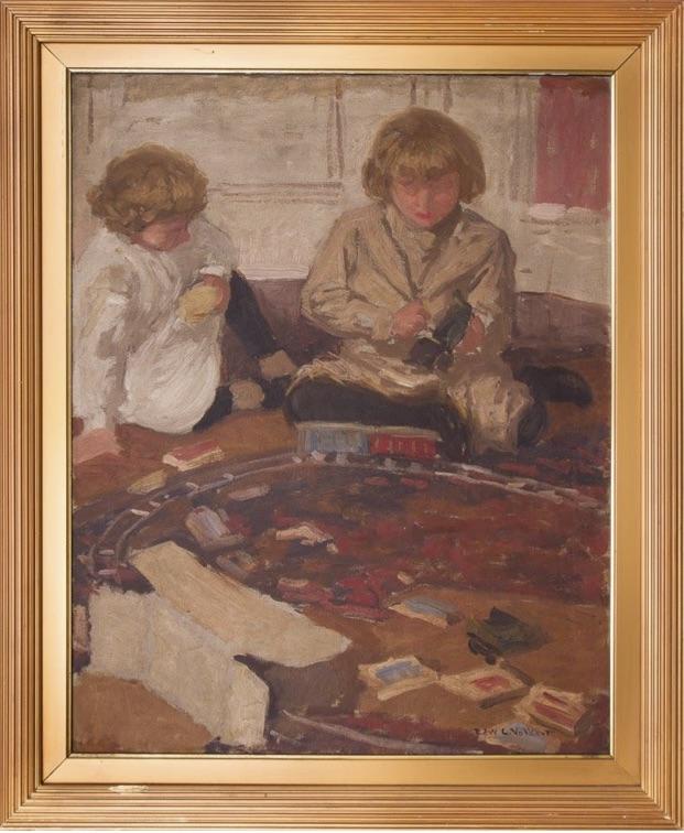 The Train—Children Playing