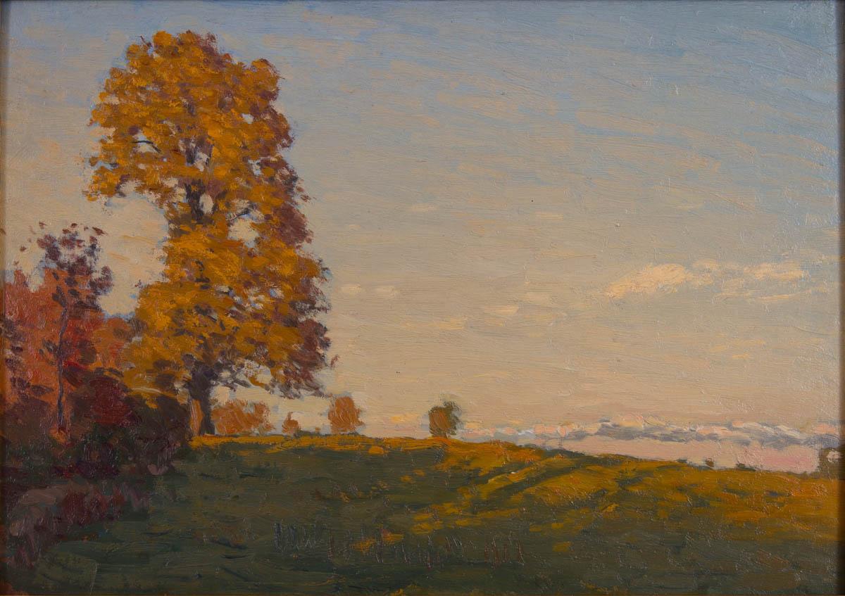 Untitled [Autumn landscape]