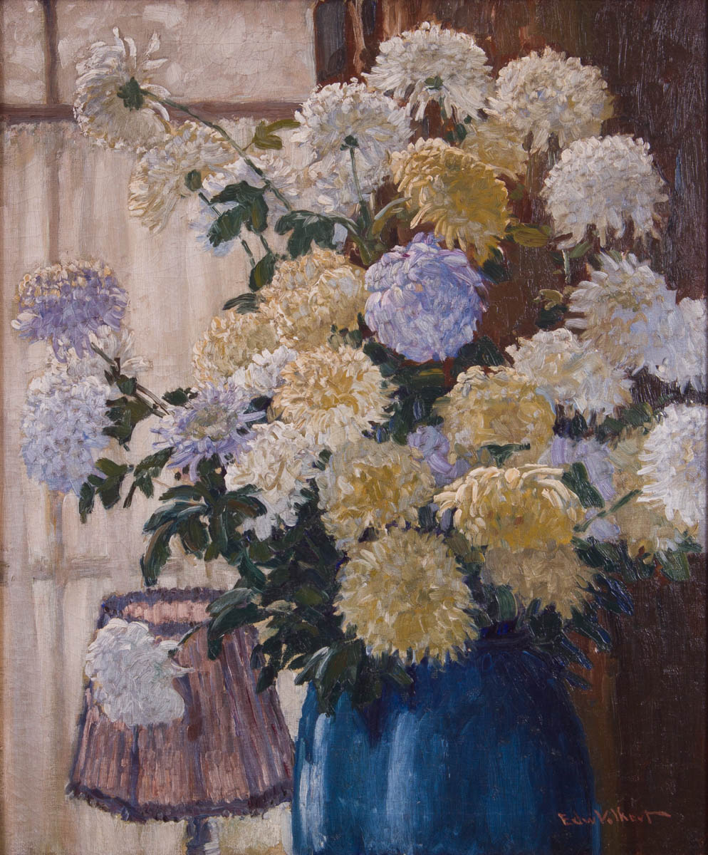 Mums in a Vase