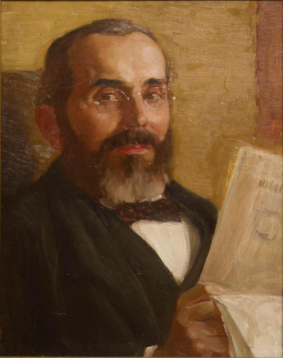 Portrait of Phillip Volkert