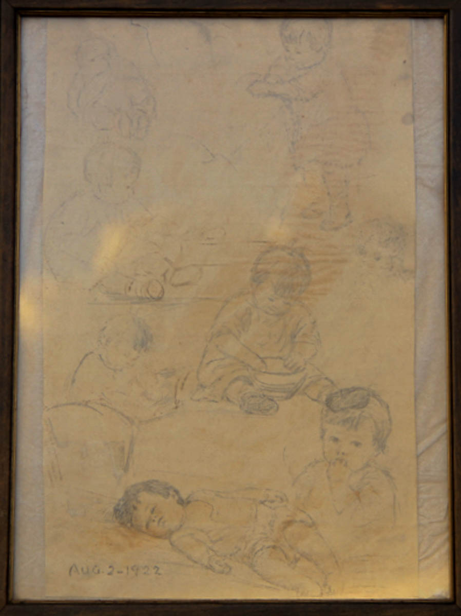 Untitled [Studies of Baby Ruth Middleton]
