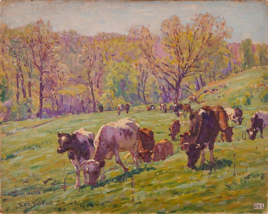 The Pasture, Spring