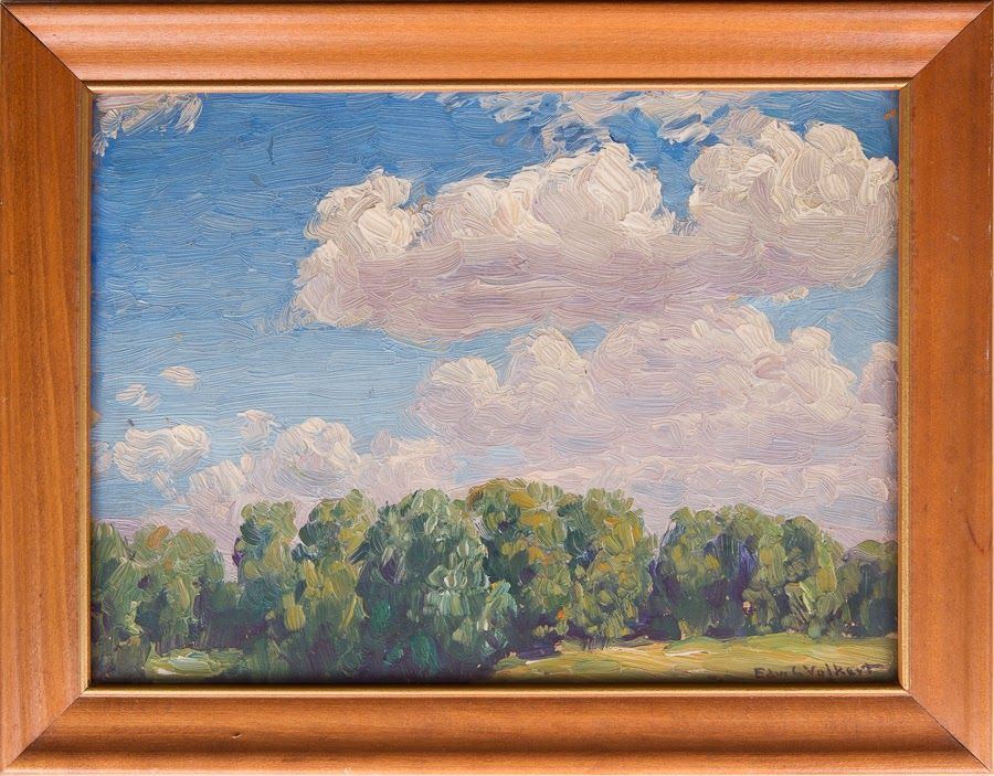 Untitled [Trees and sky]