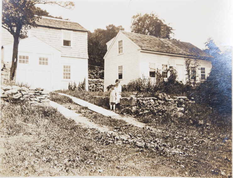 Volkert house in Lyme