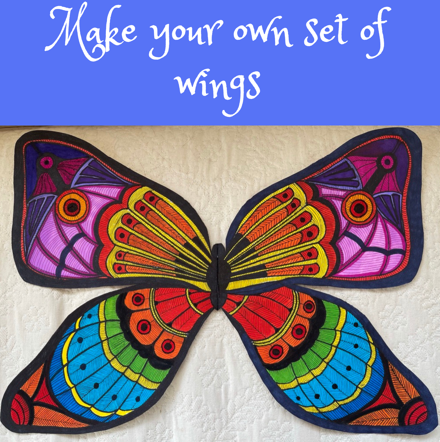Design your wings with Julie Garvin Riggs