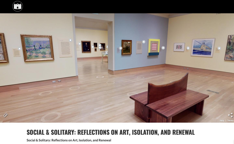 Virtual Tour of current exhibition